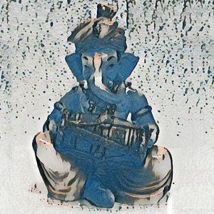 Ganesh musical N1/4  18 x 18 inch