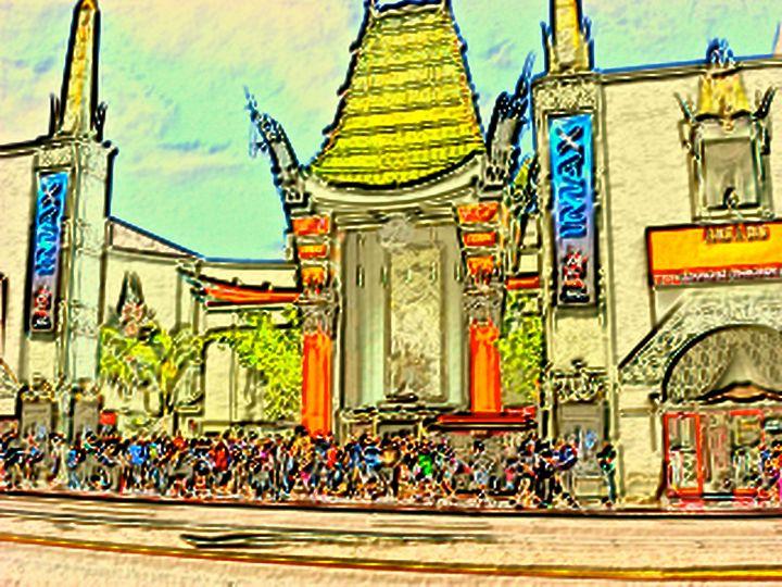 Grauman's Chinese Theater - D.C. Burzo