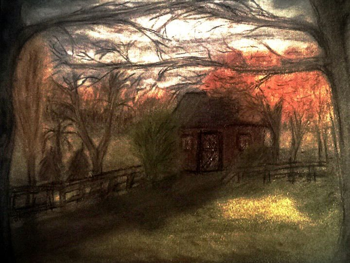 Fall Storm and the Bungalow - D.C. Burzo