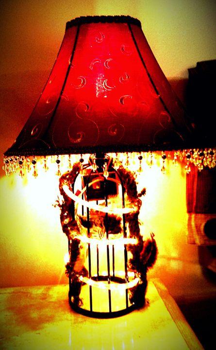 Bird's Cage Lamp - D.C. Burzo
