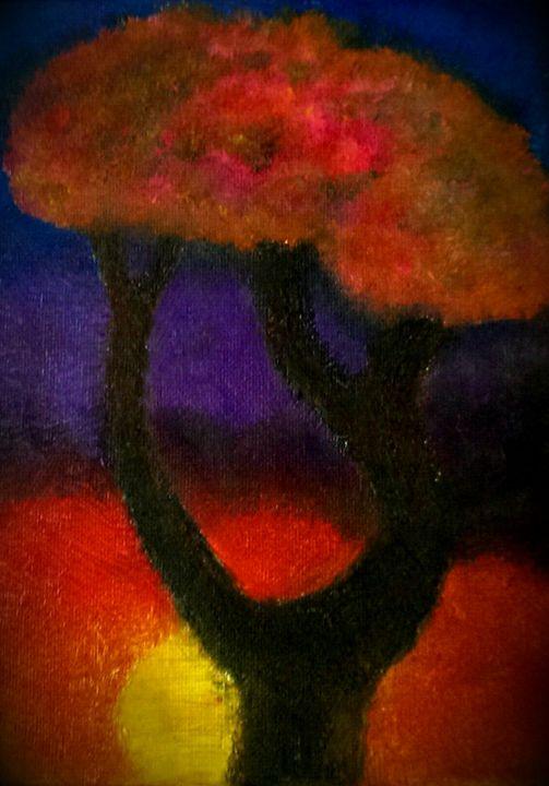 African Sunset - D.C. Burzo