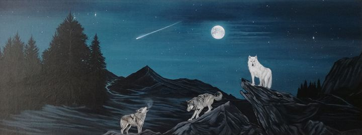 Throw me to the wolves. - Zoe Adams Artwork