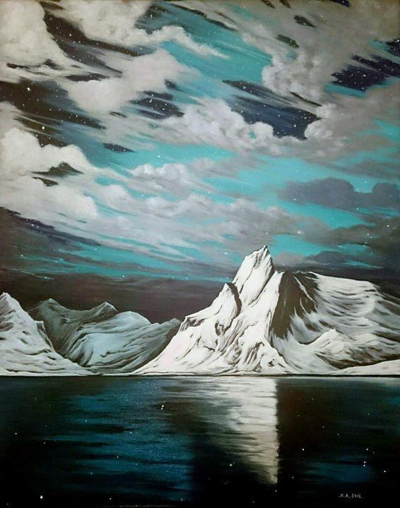 Ice waters - Zoe Adams Artwork