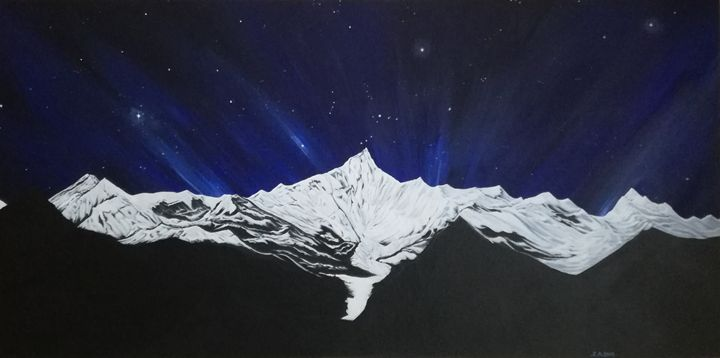 Starlight Mountain - Zoe Adams Artwork