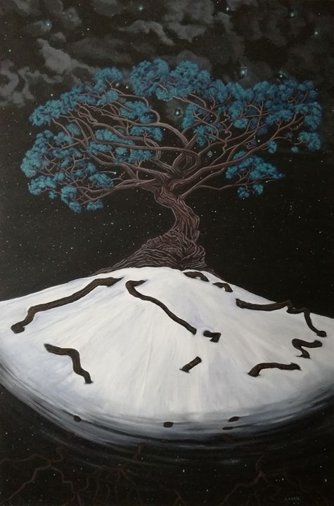 Yggdrasil / Tree of life. - Zoe Adams Artwork