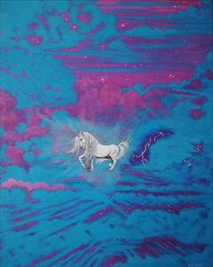 The Unicorn. - Zoe Adams Artwork