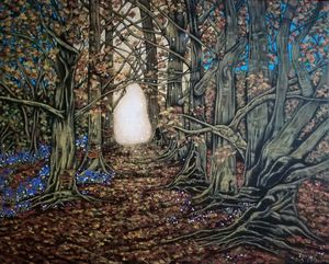 Into the woods. - Zoe Adams Artwork
