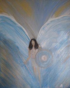 Angel of justice. - Zoe Adams Artwork