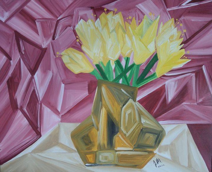 Jarrón de Flores - Jawadian Art