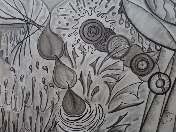 Un poco de agua - Jawadian Art