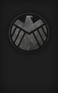 SHIELD phone Wallpaper (black)