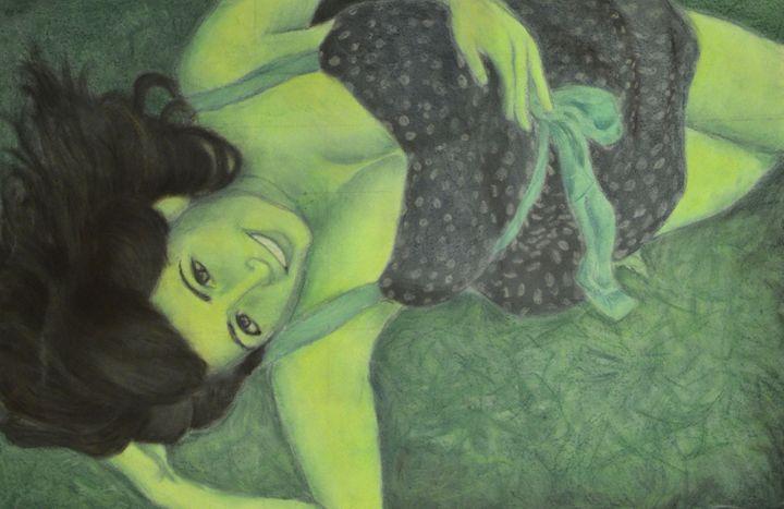 Dream in Green - Heikkinen Art