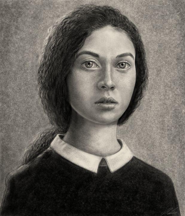 School girl - Fabio Sanna Art