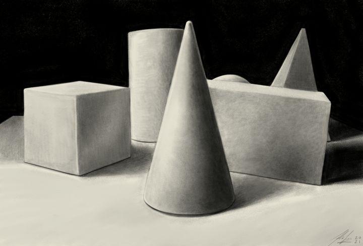 Primordials - Fabio Sanna Art