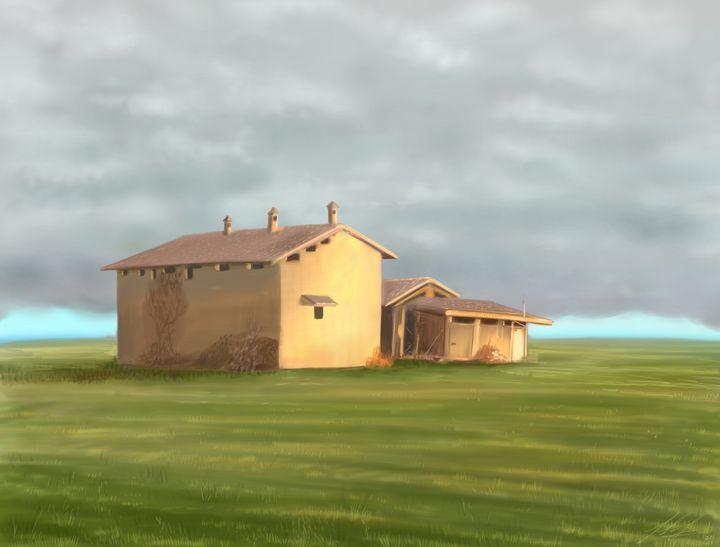 The old farmhouse - Fabio Sanna Art