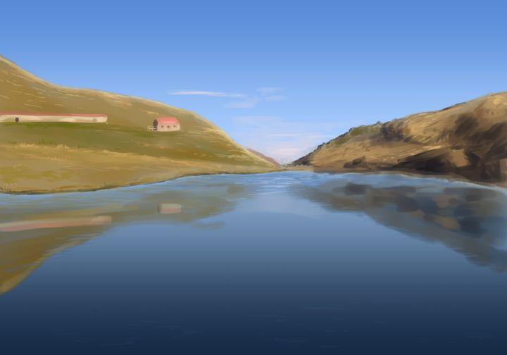 Avostanis lake - Fabio Sanna Art