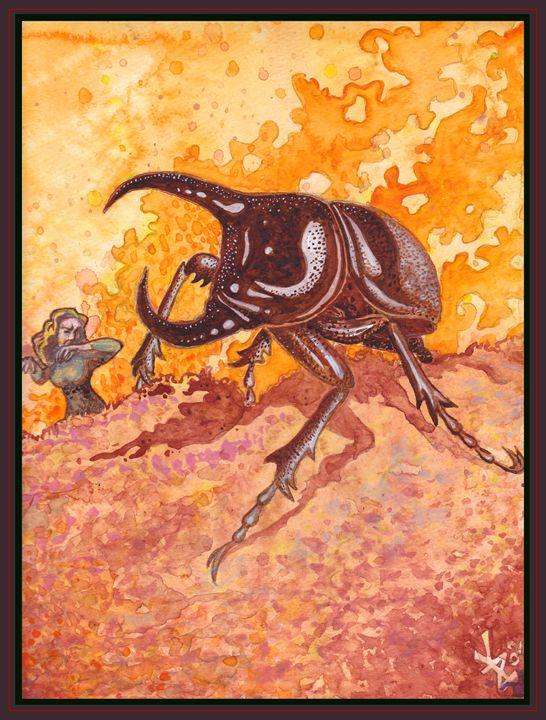 Horny Beetle - Kunstcamera
