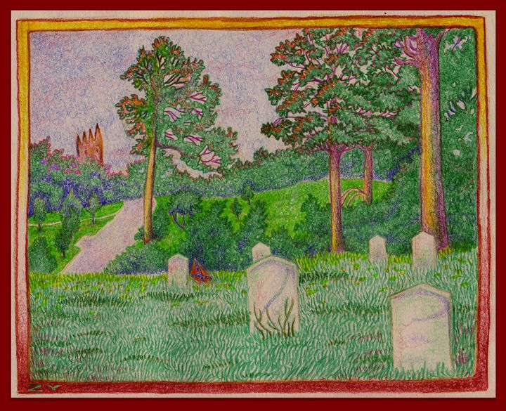Hollywood Cemetery in Richmond, VA - Kunstcamera