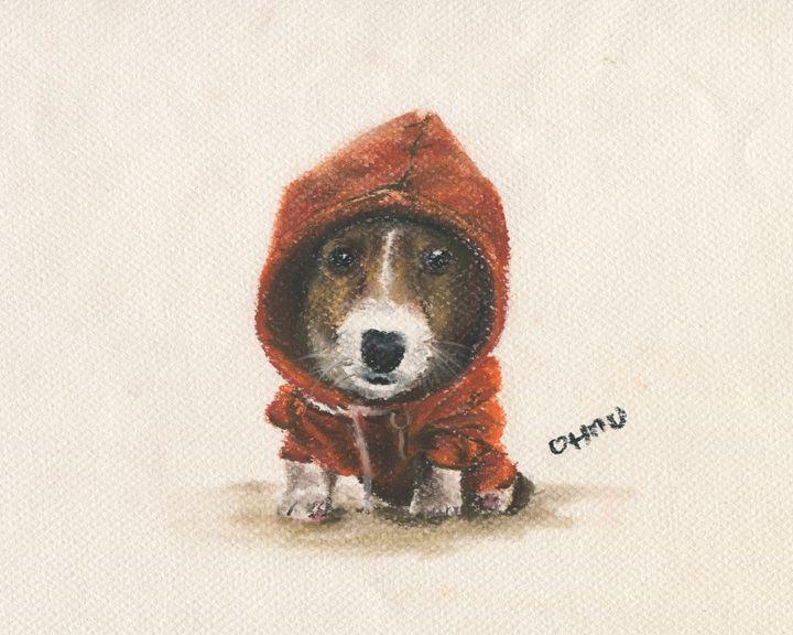 Hoodie Puppy - OHMU Gallery