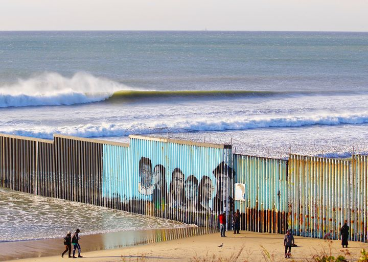 """"""" Migrants Mural Wave"""" - Border Collection by JC Monje"""