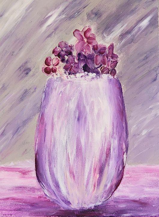 Dainty Flowers - Patricia Richards Art Gallery