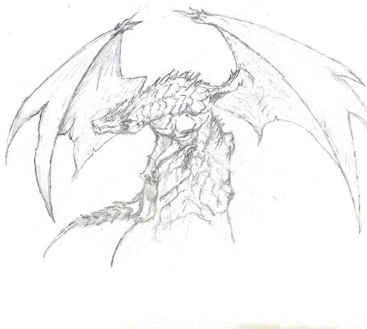 Dragon sketch - Ghost