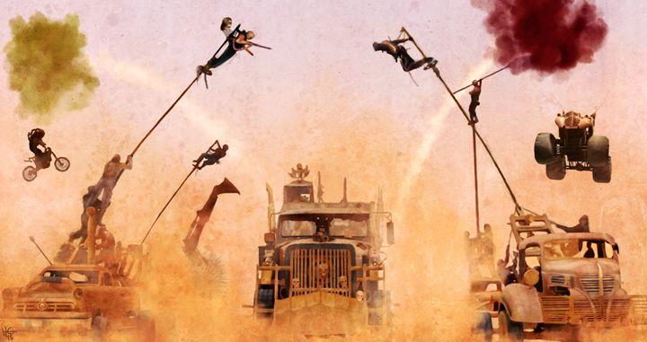 Mad Max Pole Cats - Hosam Gemei