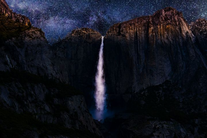 Yosemite at night - Bright i studios