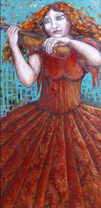 The violin - Cheryle Bannon