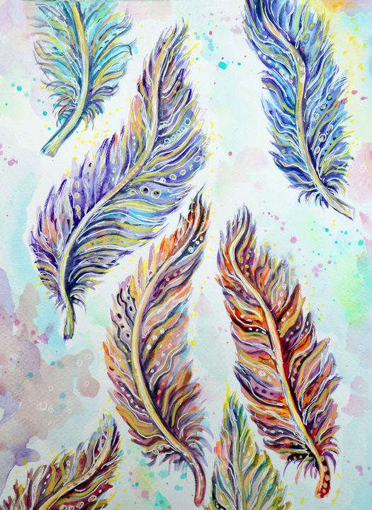 As light as a feather - Cheryle Bannon
