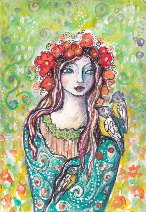 Garden Song - Cheryle Bannon