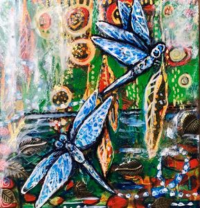 Dragonfly Dreaming - Cheryle Bannon