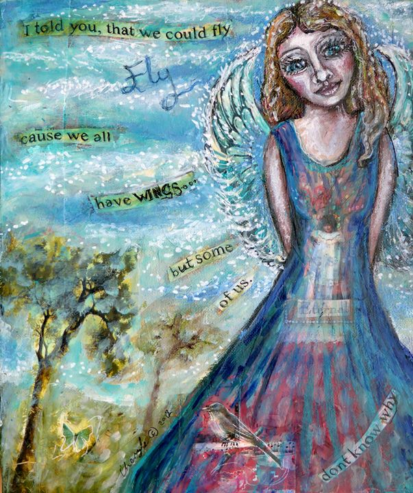 We all have wings - Cheryle Bannon