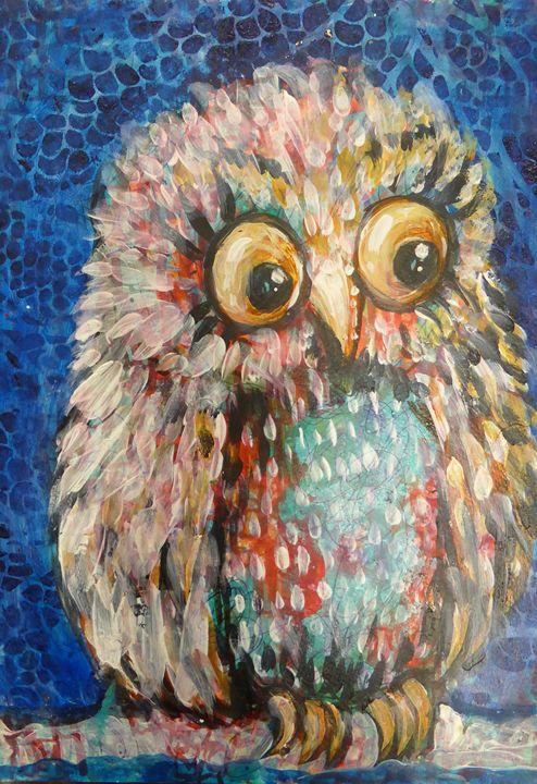 Wide eyed wisdom - Cheryle Bannon