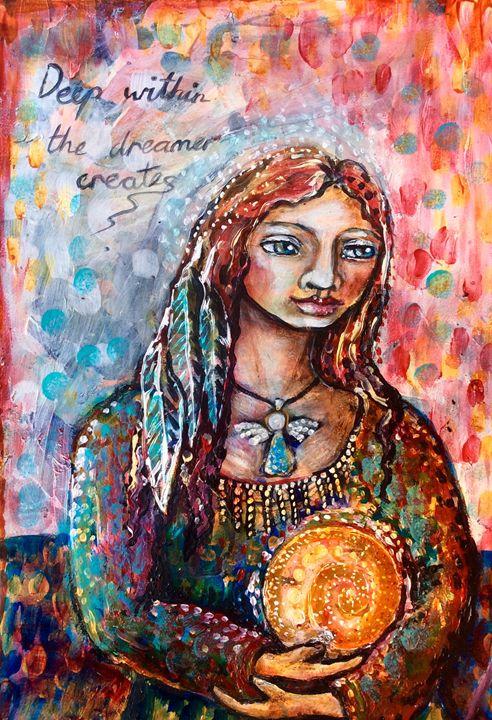The dreamer creates - Cheryle Bannon