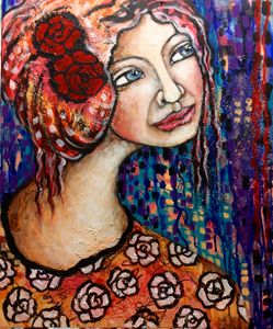 Rose dreaming - Cheryle Bannon