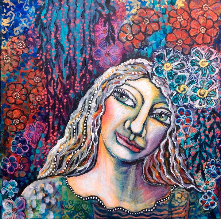 Dreaming garden - Cheryle Bannon