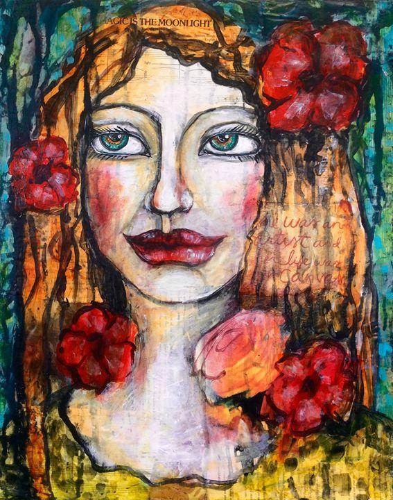 She was the canvas - Cheryle Bannon