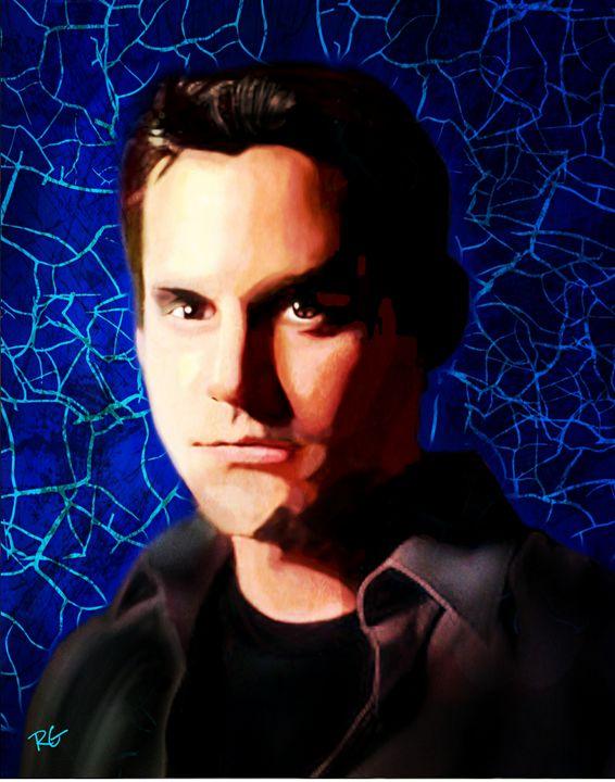 Buffy the Vampire Slayer: Xander Art - RGIllustration