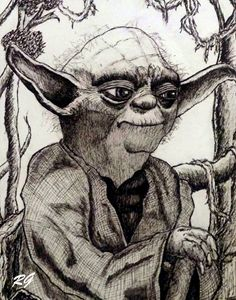 Star Wars Yoda Original Portrait