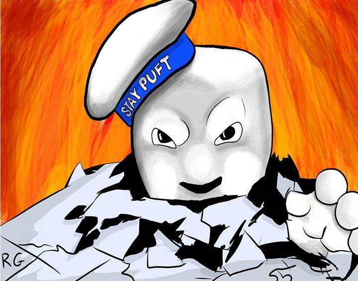 Ghostbusters: Stay Puft's Revenge - RGIllustration
