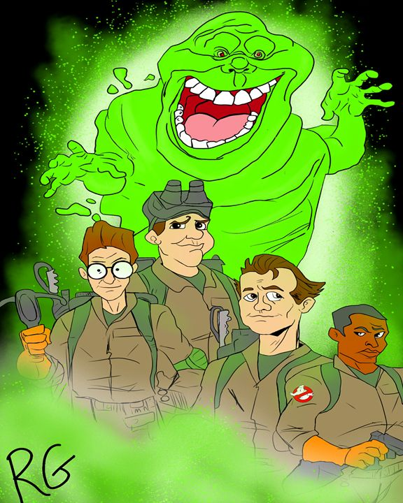 Ghostbusters Original Artwork - RGIllustration