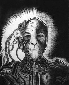 Star Trek TNG Picard Locutus Artwork