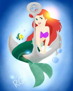 Ariel Little Mermaid Disney Princess