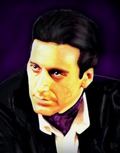 The Godfather Al Pacino Portrait - RGIllustration