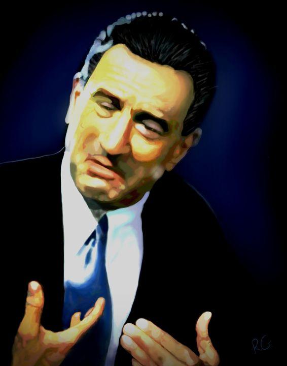 Goodfellas Robert De Niro Portrait - RGIllustration