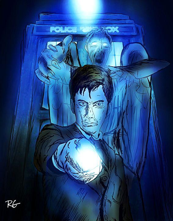 Doctor Who Original Artwork - RGIllustration