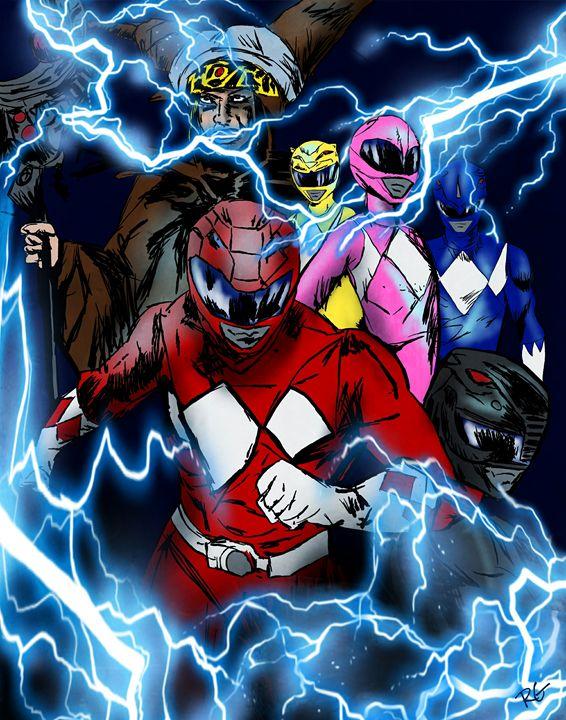 Mighty Morphin Power Rangers - RGIllustration