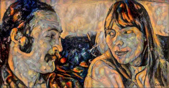 David Crosby and Joni Mitchell - IanArdo