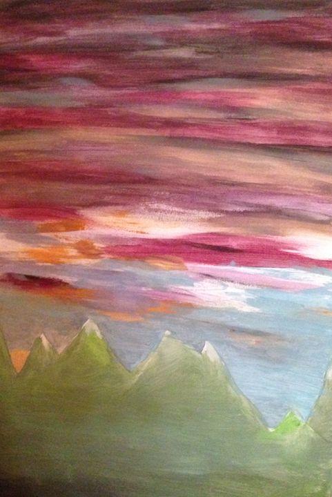 Cascade - Cassandra McClure's Art